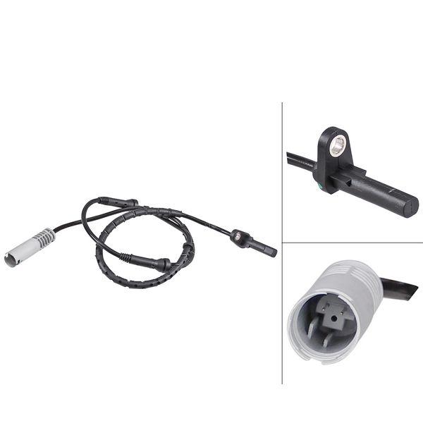 ABS-sensor achterzijde, links of rechts BMW 7 (E65, E66, E67) 730 d