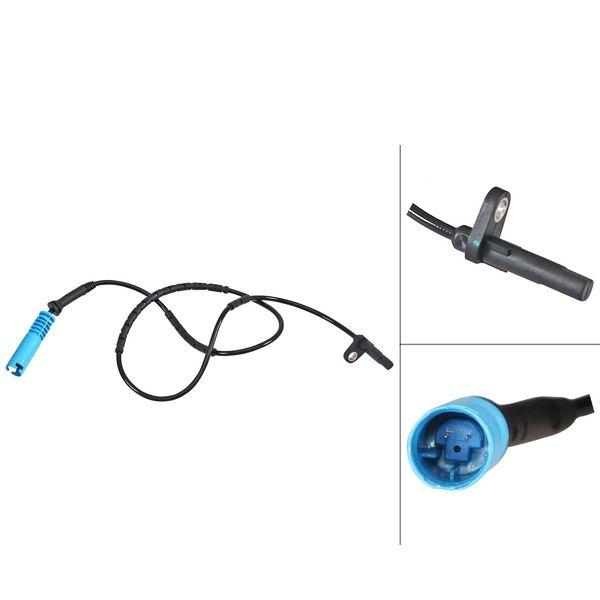 ABS-sensor achterzijde, links of rechts BMW X1 (E84) sDrive 20 i