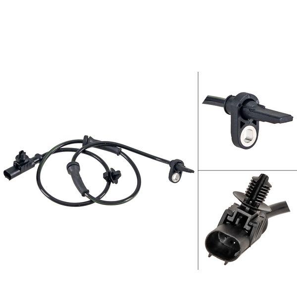 ABS-sensor voorzijde, links of rechts FIAT DOBLO MPV 1.3 D Multijet
