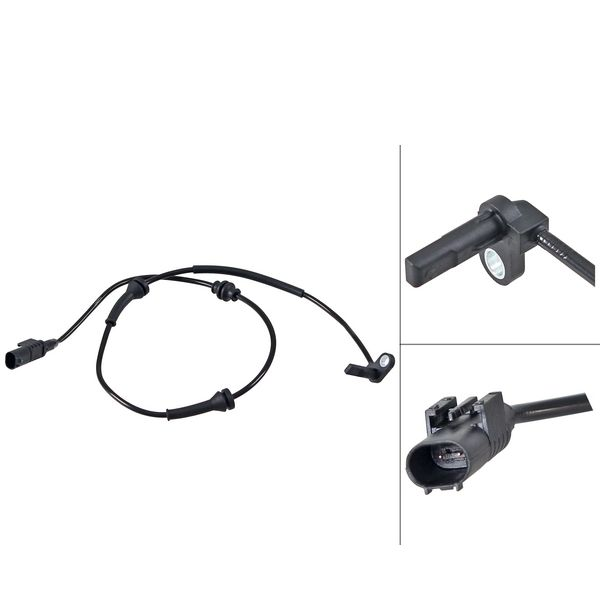 ABS-sensor voorzijde, links of rechts FIAT DOBLO MPV 1.6 D Multijet