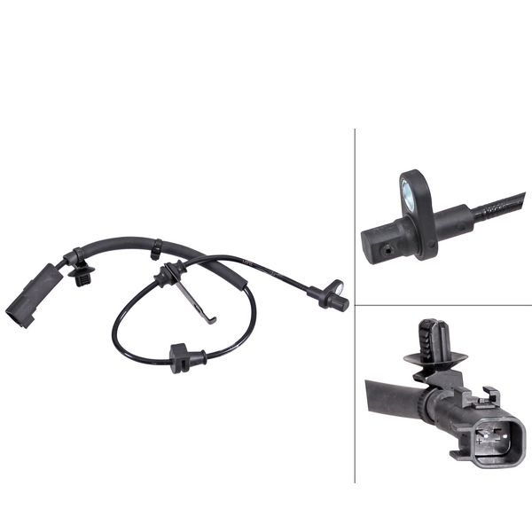 ABS-sensor achterzijde, links of rechts FORD MONDEO V Sedan 2.0 TDCi