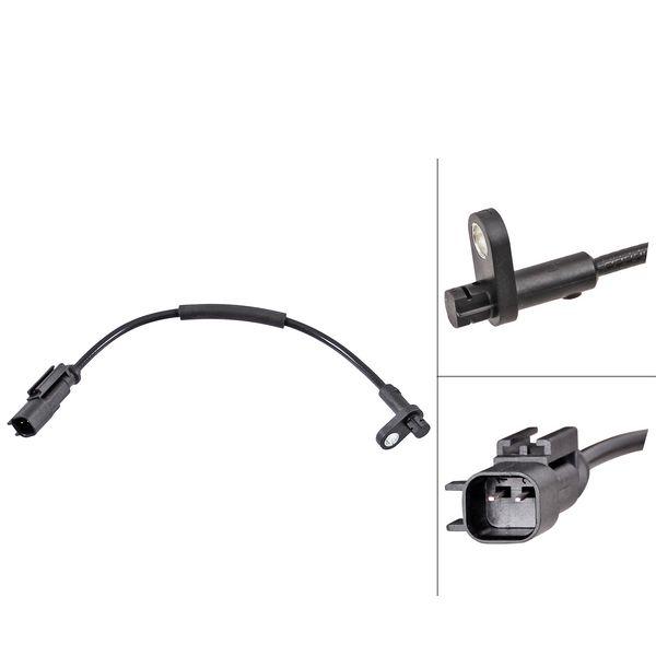 ABS-sensor voorzijde, links of rechts FORD TRANSIT V363 Bestelwagen 2.0 EcoBlue RWD