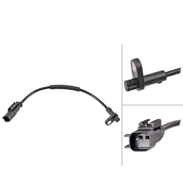 ABS-sensor voorzijde, links of rechts FORD TRANSIT V363 Bus 2.2 TDCi RWD