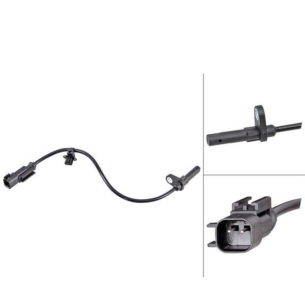 ABS-sensor achterzijde, links of rechts FORD TRANSIT V363 Open laadbak/ Chassis 2.0 EcoBlue