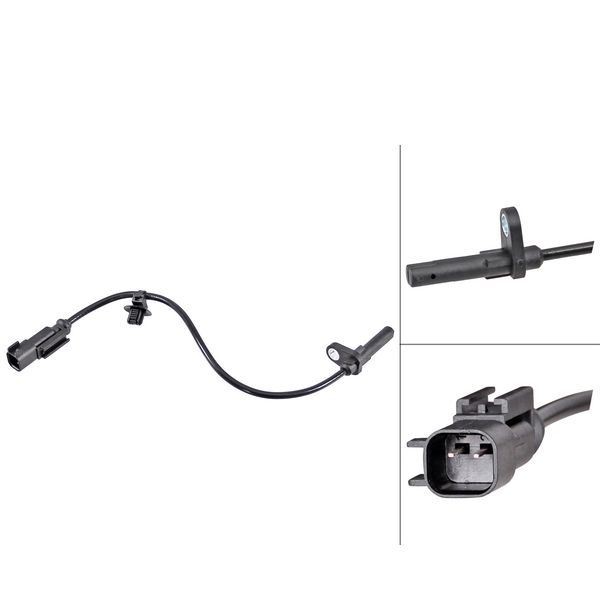 ABS-sensor achterzijde, links of rechts FORD TRANSIT V363 Open laadbak/ Chassis 2.0 EcoBlue 4x4