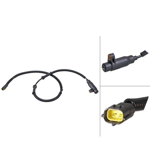 ABS-sensor voorzijde, rechts KIA CERATO Sedan 1.6