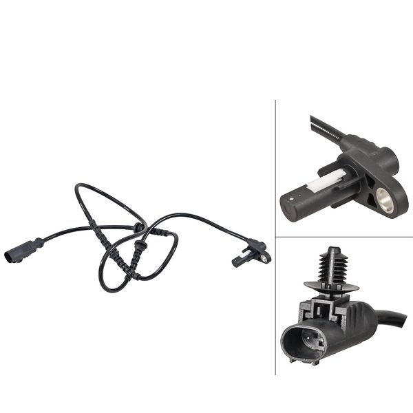 ABS-sensor voorzijde, links of rechts LAND ROVER DISCOVERY IV 3.0 SDV6 4x4