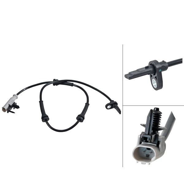 ABS-sensor achterzijde, links of rechts LAND ROVER DISCOVERY V 2.0 Td4 4x4