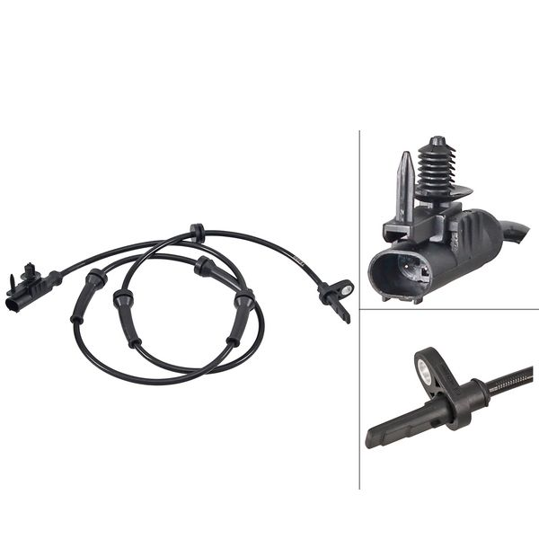 ABS-sensor achterzijde, links of rechts LAND ROVER RANGE ROVER SPORT 2.0 SD4 4x4
