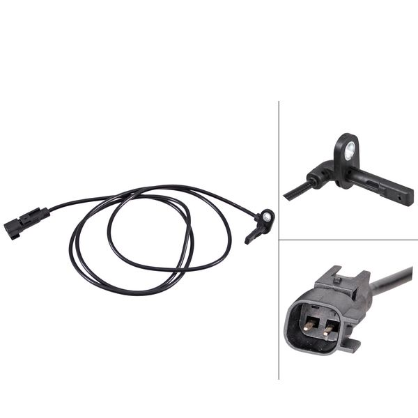 ABS-sensor achterzijde, links OPEL INSIGNIA A Sports Tourer 2.0 Biturbo CDTI