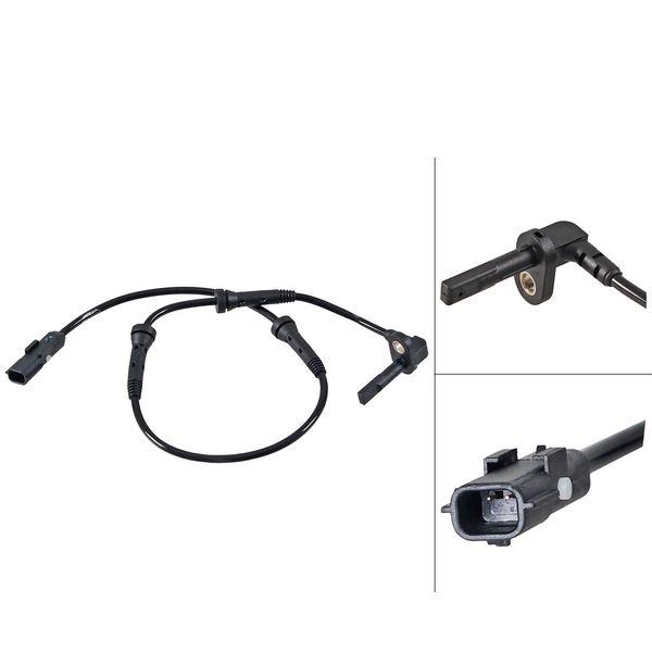 ABS-sensor voorzijde, links of rechts RENAULT CLIO IV 1.5 dCi 110