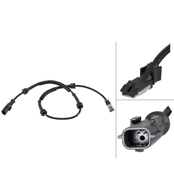 ABS-sensor voorzijde, links of rechts
