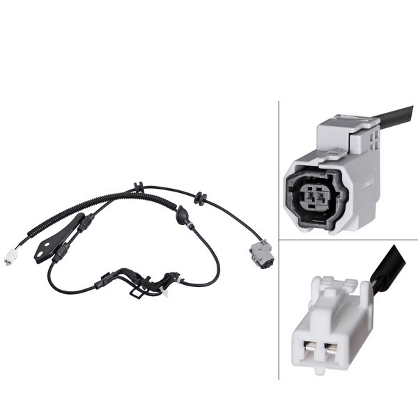 ABS-sensor achterzijde, links of rechts TOYOTA COROLLA Sedan 1.4 VVT-i