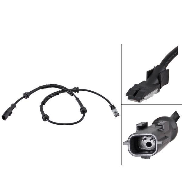 ABS-sensor voorzijde, links of rechts VAUXHALL VIVARO A Combi 2.0 ECOTEC