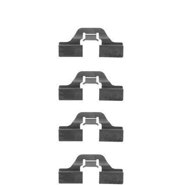 Remblok-montageset voorzijde AUDI A4 1.8