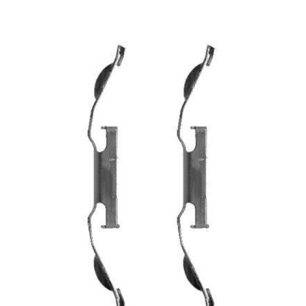 Remblok-montageset voorzijde BMW 3 (E46) 316 i