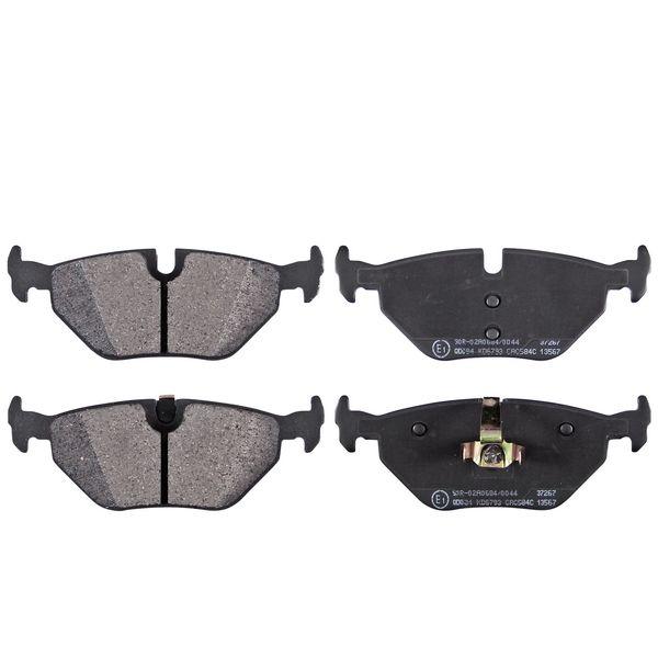 Remblokkenset achterzijde originele kwaliteit BMW 3 (E46) 316 i