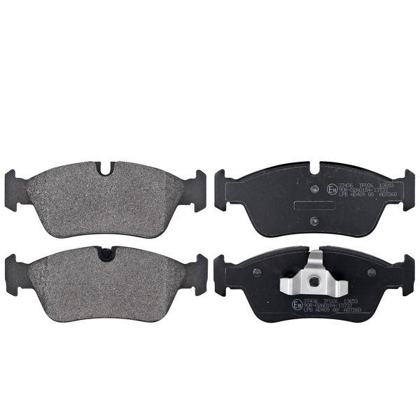 Remblokkenset voorzijde originele kwaliteit BMW 3 (E90) 318 i