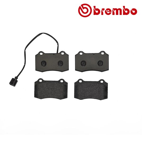 Remblokkenset achterzijde Brembo premium FERRARI 360 Spider 3.6