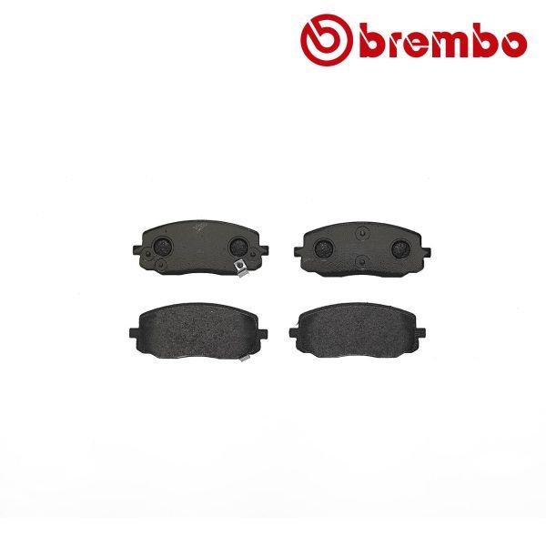 Remblokkenset voorzijde Brembo premium