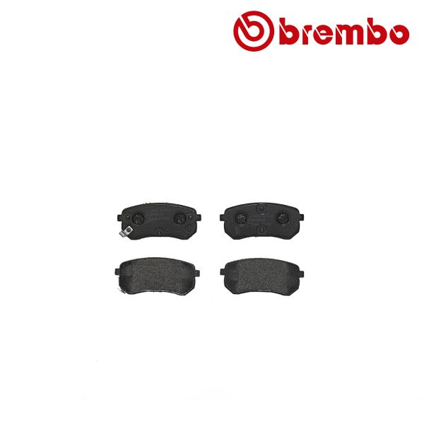 Remblokkenset achterzijde Brembo premium KIA PICANTO 1.0