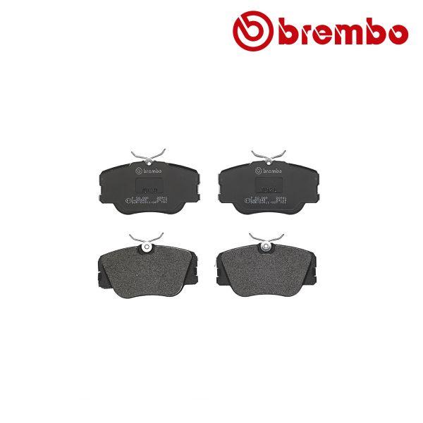 Remblokkenset voorzijde Brembo premium MERCEDES-BENZ 124 Sedan (W124) 250 Turbo-D