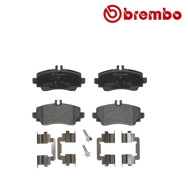 Remblokkenset voorzijde Brembo premium MERCEDES-BENZ A-KLASSE (W168) A 140