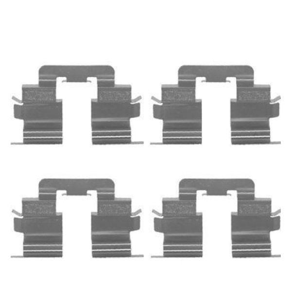 Remblok-montageset voorzijde MERCEDES-BENZ A-KLASSE (W168) A 160 CDI