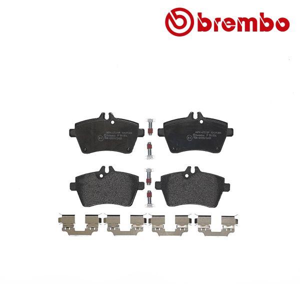 Remblokkenset voorzijde Brembo premium MERCEDES-BENZ A-KLASSE (W169) A 160