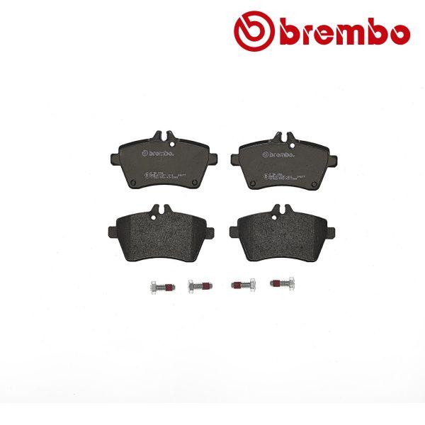 Remblokkenset voorzijde Brembo premium MERCEDES-BENZ A-KLASSE (W169) A 160 CDI