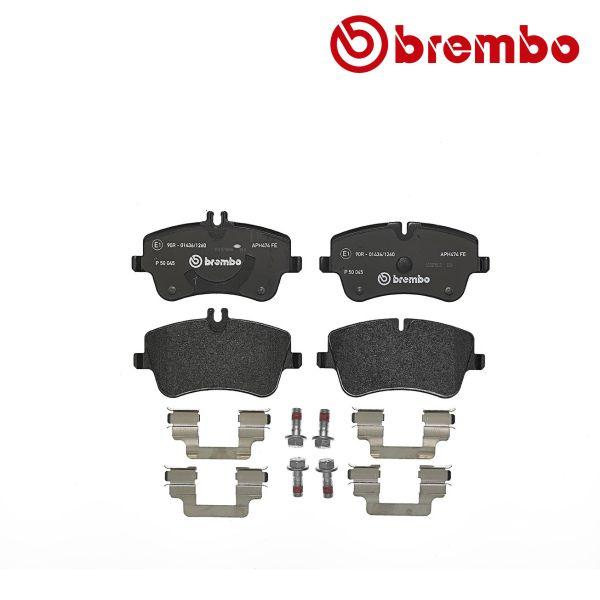 Remblokkenset voorzijde Brembo premium MERCEDES-BENZ C-KLASSE T-Model (S203) C 180 Kompressor