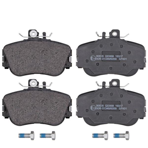 Remblokkenset voorzijde originele kwaliteit MERCEDES-BENZ C-KLASSE (W202) C 180