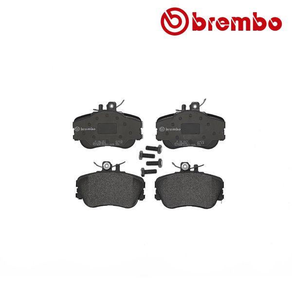 Remblokkenset voorzijde Brembo premium MERCEDES-BENZ C-KLASSE (W202) C 200 CDI