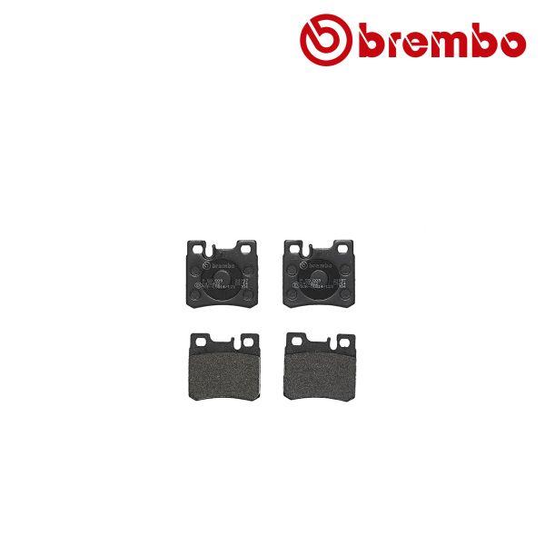 Remblokkenset achterzijde Brembo premium MERCEDES-BENZ C-KLASSE (W202) C 36 AMG