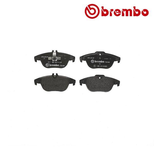 Remblokkenset achterzijde Brembo premium MERCEDES-BENZ C-KLASSE (W204) C 200 Kompressor
