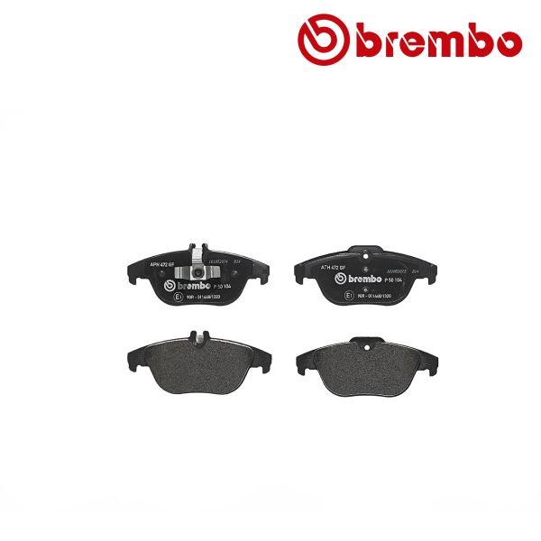 Remblokkenset achterzijde Brembo premium MERCEDES-BENZ C-KLASSE (W204) C 250 CDI 4-matic