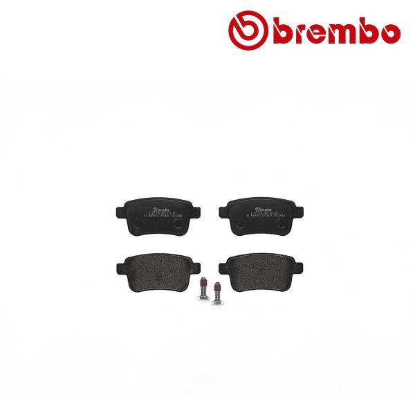 Remblokkenset achterzijde Brembo premium MERCEDES-BENZ CITAN MPV (415) 111 CDI