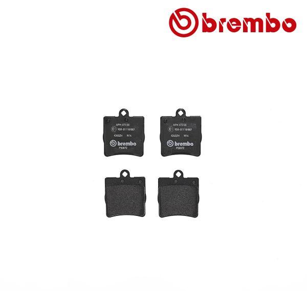 Remblokkenset achterzijde Brembo premium MERCEDES-BENZ CLC-KLASSE (CL203) CLC 200 Kompressor