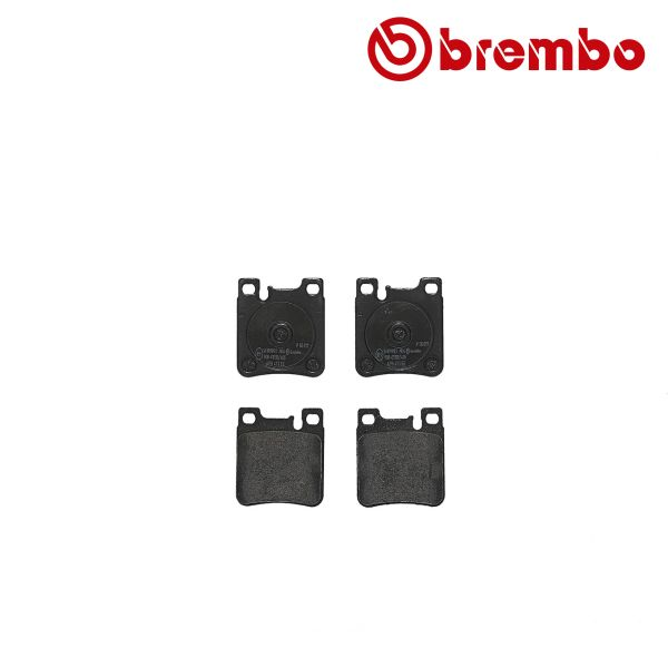 Remblokkenset achterzijde Brembo premium MERCEDES-BENZ CLK Cabriolet (A208) 430