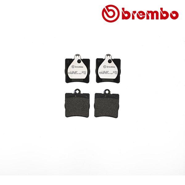 Remblokkenset achterzijde Brembo premium MERCEDES-BENZ E-KLASSE (W210) E 240