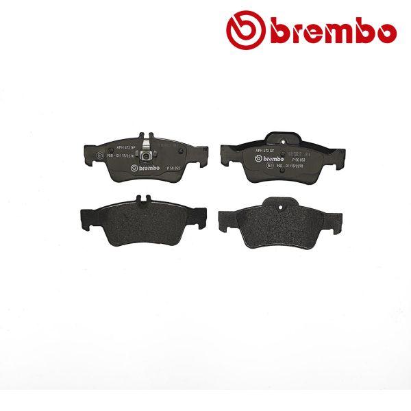 Remblokkenset achterzijde Brembo premium MERCEDES-BENZ E-KLASSE (W212) E 200 NGT