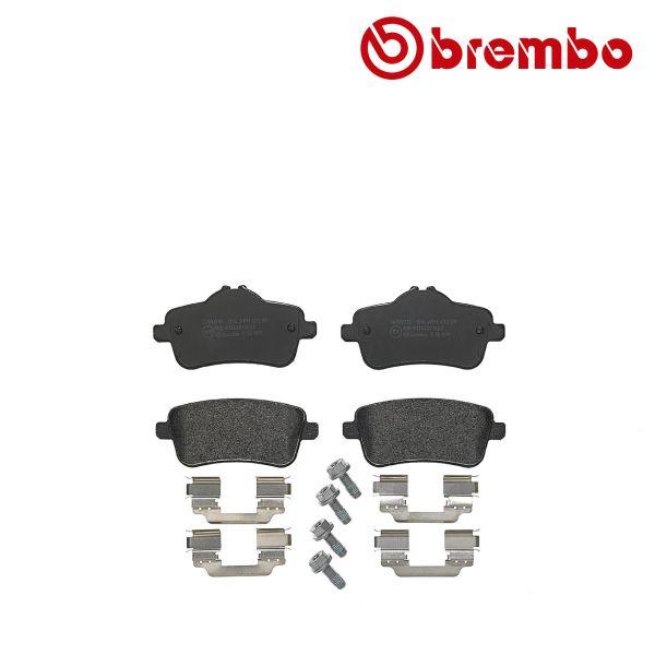 Remblokkenset achterzijde Brembo premium MERCEDES-BENZ GLE (W166) 400 4-matic