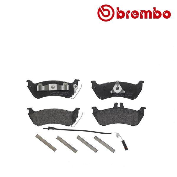 Remblokkenset achterzijde Brembo premium MERCEDES-BENZ M-KLASSE (W163) ML 230