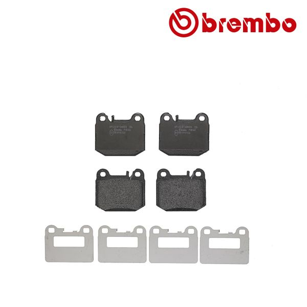 Remblokkenset achterzijde Brembo premium MERCEDES-BENZ M-KLASSE (W163) ML 400 CDI