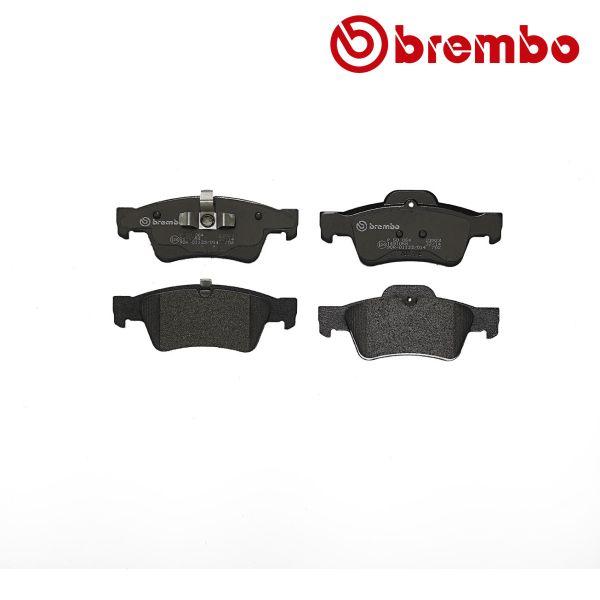 Remblokkenset achterzijde Brembo premium MERCEDES-BENZ M-KLASSE (W164) ML 300 4-matic