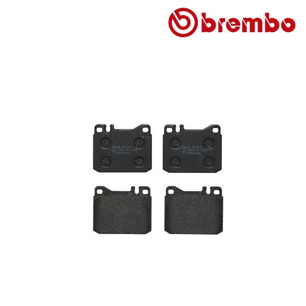 Remblokkenset voorzijde Brembo premium MERCEDES-BENZ S-KLASSE (W126) 260 SE