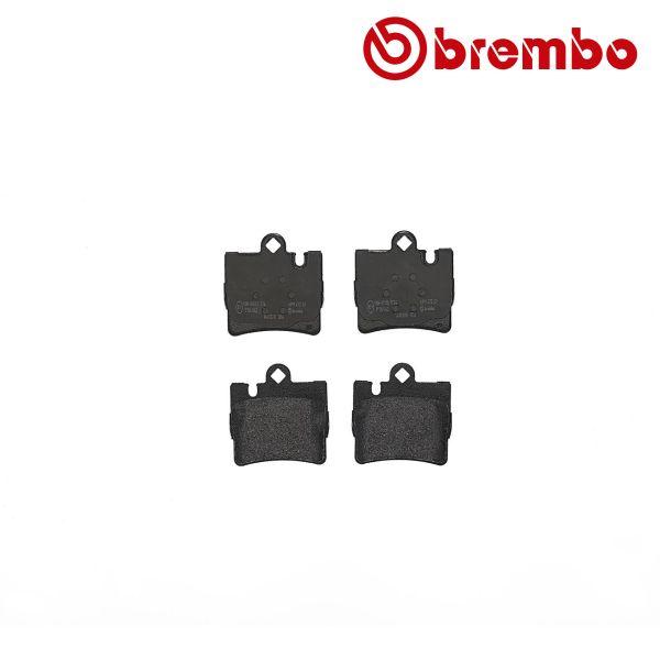 Remblokkenset achterzijde Brembo premium MERCEDES-BENZ S-KLASSE (W220) S 280