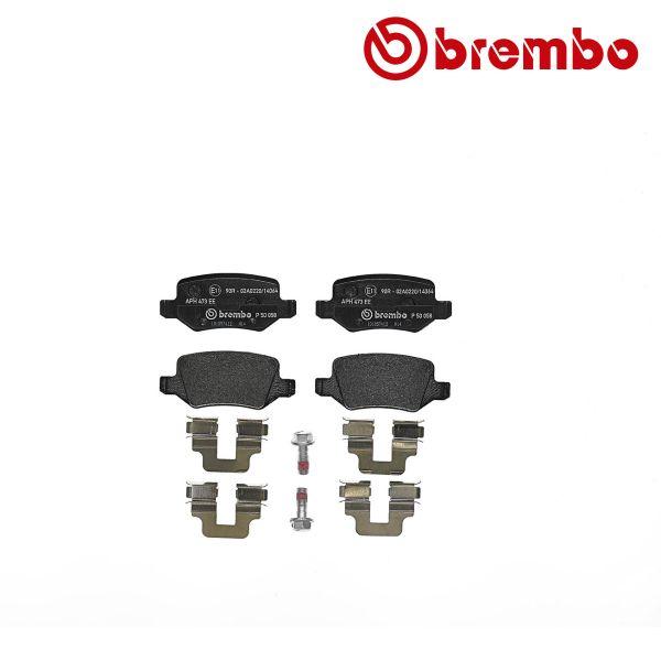 Remblokkenset achterzijde Brembo premium MERCEDES-BENZ VANEO (414) 1.7 CDI