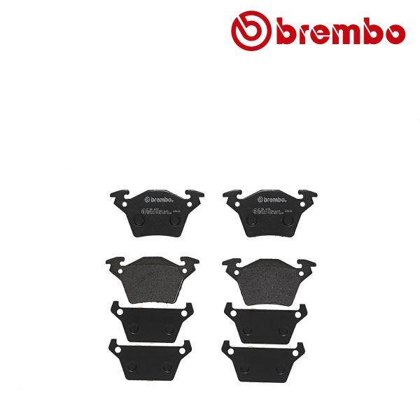 Remblokkenset achterzijde Brembo premium MERCEDES-BENZ VITO Bestelwagen (638) 110 D 2.3