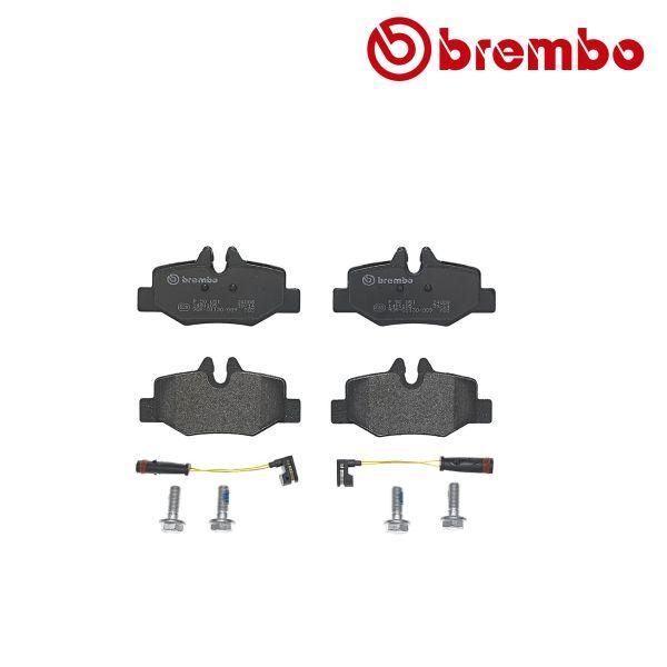Remblokkenset achterzijde Brembo premium MERCEDES-BENZ VITO Bus (W639) 110 CDI